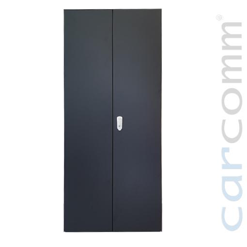 Double Steel Door with Lock